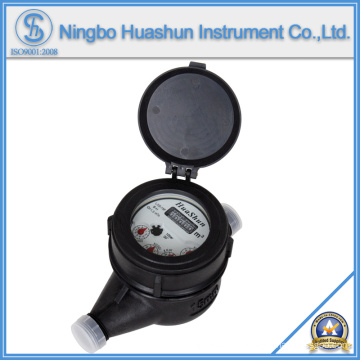 Multi Jet Liquid Sealed Plastic Body Water Meter